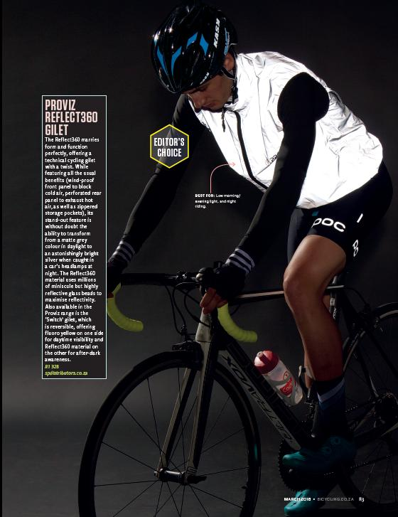 Bicycling Magazine - review