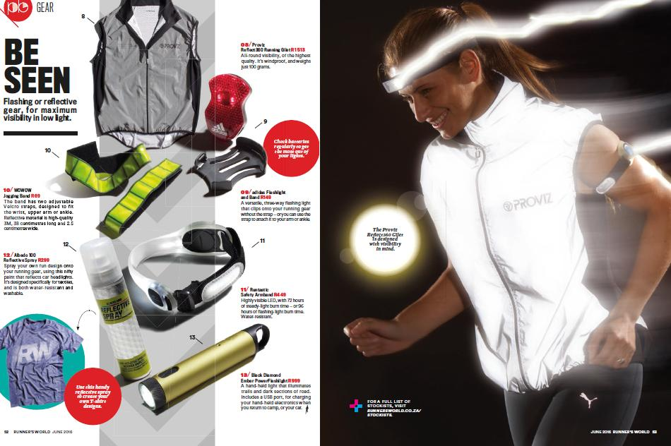 Runners World Magazine - Gear Review June2016